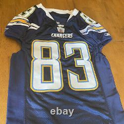 Vincent Jackson Signed Autographed Game / Team Issued Chargers JerseyPSA